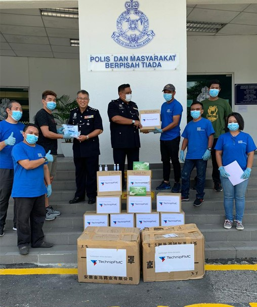 Malaysia donation to PDRM